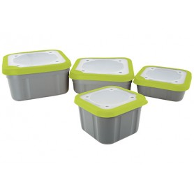 Matrix Grey/Lime Bait Box (Solid Lid)