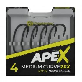 RidgeMonkey Ape-X Medium Curve 2XX Hooks