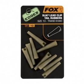Fox Edges Sz 10 Slik Lead Clip tai