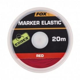 Fox Edges Marker Elastic x 20m RED
