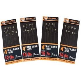 Guru Bait Band Rigs QM1 x 8