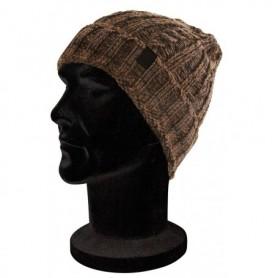 Fox Camo / black knit beanie