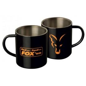Fox Stainless Black XL 400ml Mug F