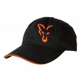 Fox Black/ Orange Baseball cap