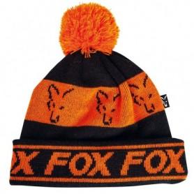 Fox Black/Orange - Lined Bobble H