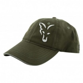 Fox green / silver baseball cap