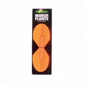 Korda Spare Marker Flights Black